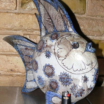 Rudolf Knoerlein fish - Pottery