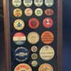 Collection of Automobile Pinback Buttons
