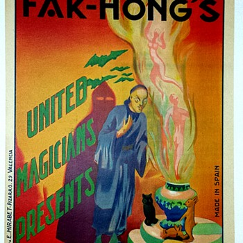 "Original Fak Hong ""Hara-Kiri"" Stone Lithograph Poster - Posters and Prints"
