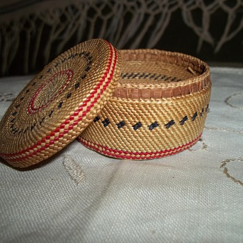 Fine Miniature Makah Basket - Native American
