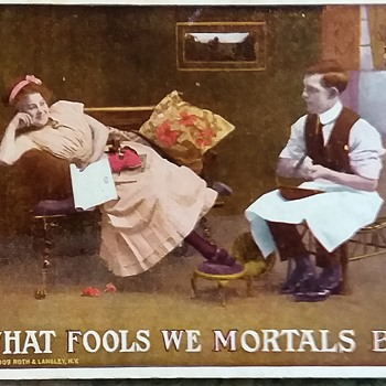 What Fools We Mortals Be - Postcards