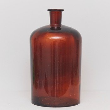 Large Bottle/Container (Holmegaards Glassworks, Denmark), Early 20th Century