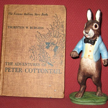 The Adventures Of Peter Cottontail Book By Thornton W. Burgess - Books