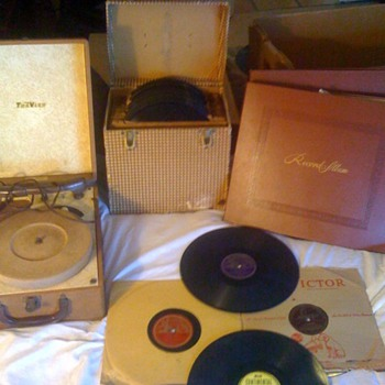 Dean Benedetti collection of Charlie Parker jazz records from 1940s