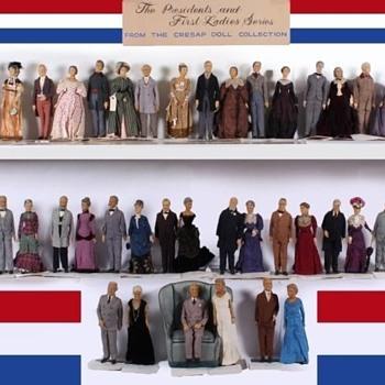 Lewis Sorensen Presidential doll collection - Dolls