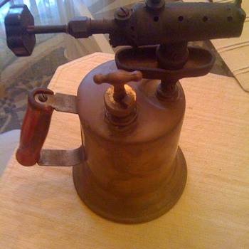 1921 Clayton and Lambert Brass Blow Torch - Tools and Hardware