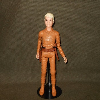 Marx Mutant Jay West With Jamie Head Johnny West Series Circa 1970 - Toys
