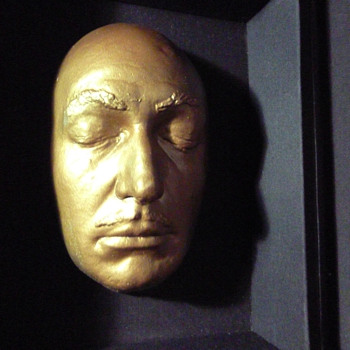 Salvador Dali golden death mask - Fine Art