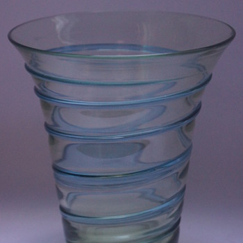 Whitefriars Spiral Vase - Art Glass