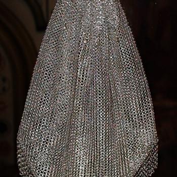 Portugese 833 Silver Hallmarked Mesh Bag Belonged To Ema Cordiglia Lavalle Montero - Bags