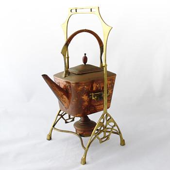 Teapot (WMF ca. 1900) - Art Nouveau