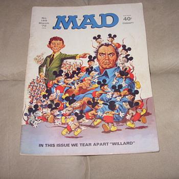 no 149 march 1972 mad magazine - Paper
