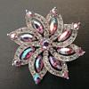 Bogoff floral brooch