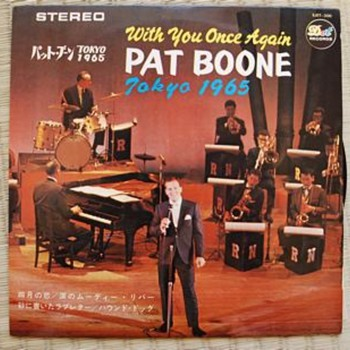Pat Boone Live in Tokyo 1965 - Records