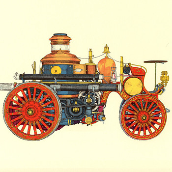 Evelyn Curro Firefighting Equipment Prints