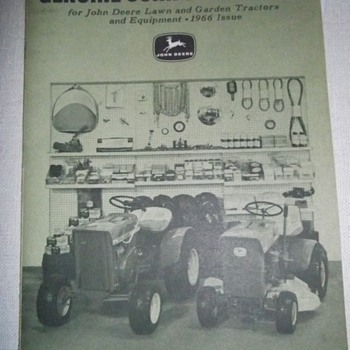 GENUINE JOHN DEERE PARTS, 1966 MINT SHAPE - Tractors