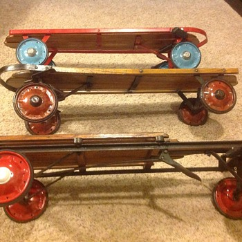 FLEXY RACERS ( CIRCA 1938 to 1970 ) - Toys