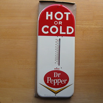 I plead Guilty!, I Stole this Dr. Pepper Thermometer..UPDATE