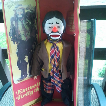 Emmett Kelly Jr. Ventriloquist Doll @ 1978 - Dolls