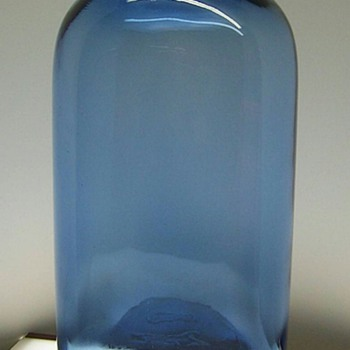 1 gallon cobalt bottle - Bottles