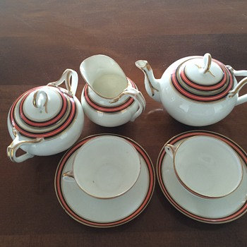 Mum's china tea set