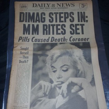Daily News 1962 - Paper