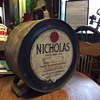"1920's ""NICHOLAS LUBRICATING OILS"" five gallon rocker can"