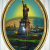 REVERSE PAINTING GODDESS OF LIBERTY PICTURE