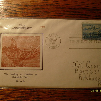 First Day of Issue 1951 - Stamps