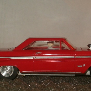 K&B AURORA 1/32 MERCURY COMET EXTERMINATOR SLOT CAR - Model Cars