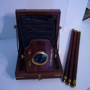 Folding wood camera Made in India
