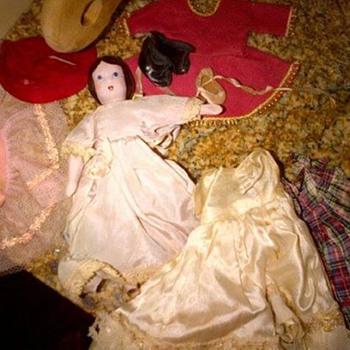 Ruth Gibbs Godey's little lady dolls - Dolls