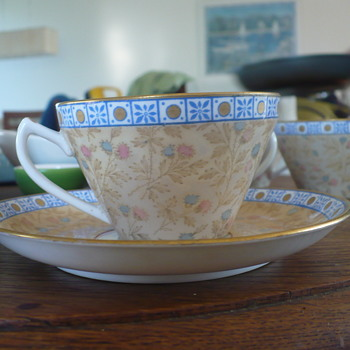 Wedgwood teacups and saucers