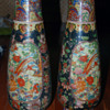 Chinese or Imari Porcelain Pair of Vases with mark - unsure?