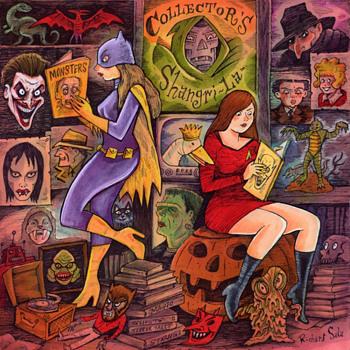 Richard Sala Original Illustration Art