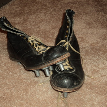 old football spikes