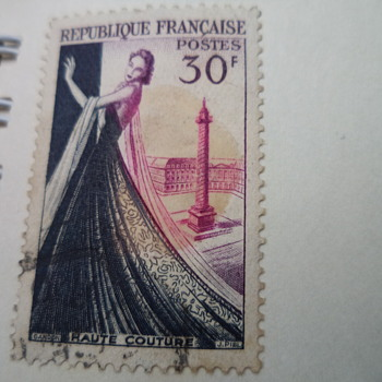 Republique Francaise/ French Vintage Stamps
