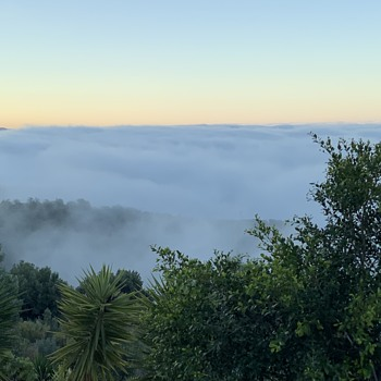 Sea Mist in Andalusia Southern Spain. - Photographs