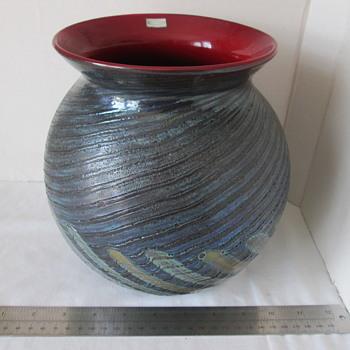 Finnish art glass vase - Art Glass