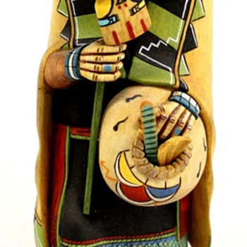 """Kachina Maiden"" by Bryson Huma. HOPI carver - Native American"