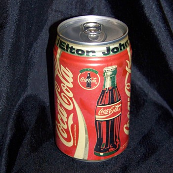 Elton John Coca Cola Can Unopened - Coca-Cola