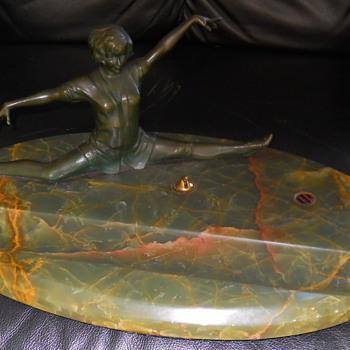 Wonderful Bronze by Lorenzl  - Art Deco