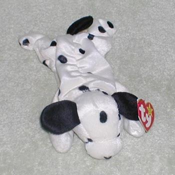 """1996 - TY Beanie Baby """"Dotty"""" Dalmatian - Toys"""