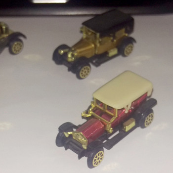 Toy car Collection found in Grandparents Attic - Model Cars