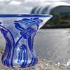 Webb Fleur cameo glass vase 1930s