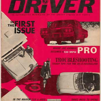 "USAF ""Driver"" Magazine - June 1967 (**First Issue)"