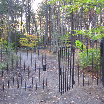 We hung the Antique Gates with additions. - Tools and Hardware