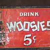 WOOSIES SODA SIGN