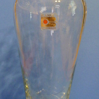 Blenko crystal glass vase - Art Glass