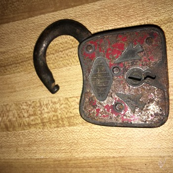 Found in the walls of my house built in 1890. Anyone know anything about this lock? - Tools and Hardware